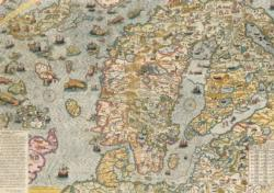 Carta Marina 1572 Maps / Geography