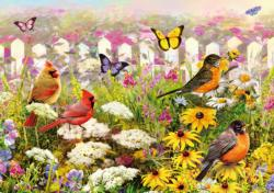 Joyful Place Flowers Jigsaw Puzzle