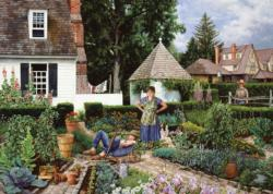 The Lazy Gardner Garden Jigsaw Puzzle