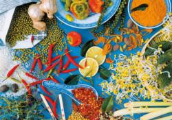 Asian Spices Food and Drink Jigsaw Puzzle