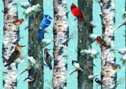 Christmas Birds Christmas Jigsaw Puzzle