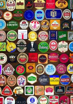 Coasters Food and Drink Jigsaw Puzzle