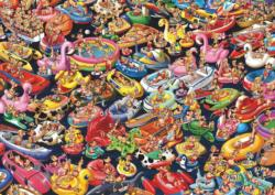 Ruyer Floating around Graphics / Illustration Jigsaw Puzzle