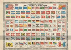National Emblems Flags Jigsaw Puzzle