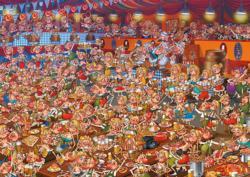 Ruyer Bavarian Festival Carnival Jigsaw Puzzle