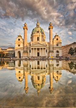 Karlskirche Vienna Monuments / Landmarks Jigsaw Puzzle