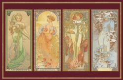 Mucha People Jigsaw Puzzle