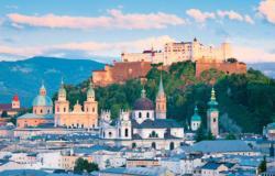 Salzburg Landscape Jigsaw Puzzle