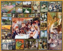 Great Painters - The Impressionists Impressionism Jigsaw Puzzle