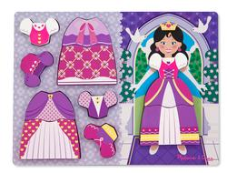 Princess Dress-Up Princess Wooden Jigsaw Puzzle