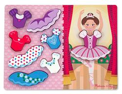 Ballerina Dress-Up Chunky Puzzle Dance Chunky Puzzle