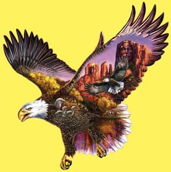 Ancient Guardian Eagles Jigsaw Puzzle