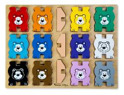 Stacking Chunky Puzzle - Bears Bears Chunky Puzzle