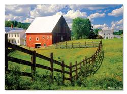 Peaceful Farm Photography Jigsaw Puzzle