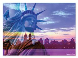 Liberty Skyline Statue of Liberty Jigsaw Puzzle