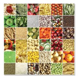 Square Meals Food and Drink Jigsaw Puzzle