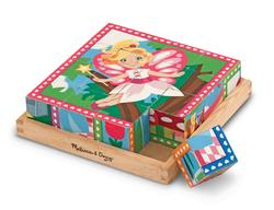 Princess & Fairy Cube Puzzle Fairies Tray Puzzle