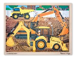 Construction Construction Tray Puzzle