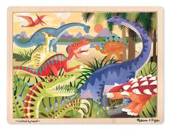 24pc Tray Puzzle - Dinosaur Dinosaurs Children's Puzzles