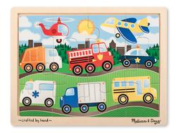 On the Road Vehicles Tray Puzzle