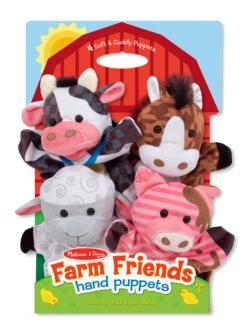 Farm Friends Hand Puppets Pig