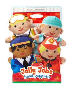 Jolly Helpers Hand Puppets Pretend Play