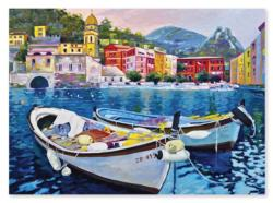 Tranquil Harbor Seascape / Coastal Living Jigsaw Puzzle