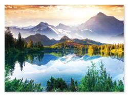 Mountain Lake Mountains Jigsaw Puzzle