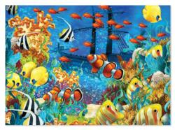 Shipwreck Reef Fish Jigsaw Puzzle