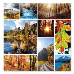 Autumn Snapshots Lakes / Rivers / Streams Jigsaw Puzzle