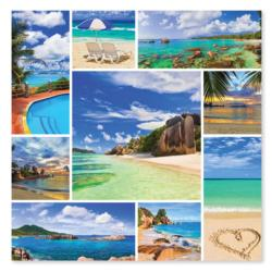 Photos from Paradise Collage Jigsaw Puzzle