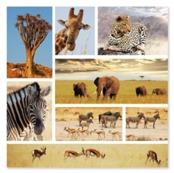 Safari Snapshots Wildlife Jigsaw Puzzle