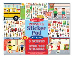 Reusable Sticker Pad - My Town Activity Book and Stickers
