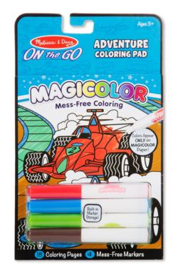 Magicolor Coloring Pad - Games & Adventure Activity Book and Stickers