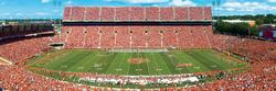 Clemson University Football Panoramic Puzzle
