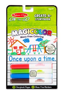 Magicolor Color-Your-Own Storybook Activity Book and Stickers