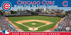 Chicago Cubs Baseball Panoramic Puzzle
