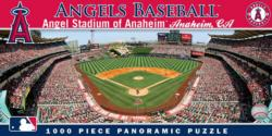 Angels of Anaheim Baseball Panoramic