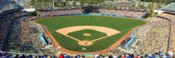 Los Angeles Dodgers Sports Panoramic Puzzle