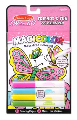 Magicolor Coloring Pad - Friendship & Fun Activity Book and Stickers