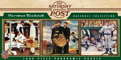 Baseball (The Saturday Evening Post) Sports Panoramic Puzzle