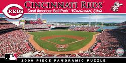 Cincinnati Reds Sports Panoramic Puzzle