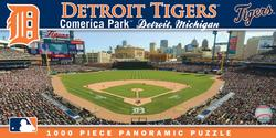 Detroit Tigers Baseball Panoramic Puzzle