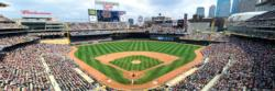 Minnesota Twins Baseball Panoramic
