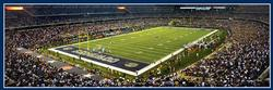 Dallas Cowboys Football Panoramic Puzzle