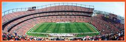 Denver Broncos Sports Panoramic Puzzle