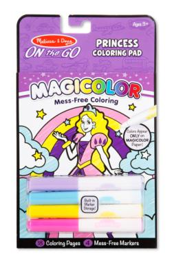 Magicolor Coloring Pad - Princess Activity Book and Stickers