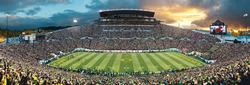 University of Oregon Sports Panoramic