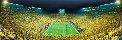 The University of Michigan - Scratch and Dent Sports Panoramic Puzzle
