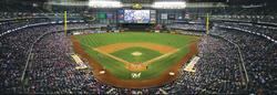 Milwaukee Brewers Baseball Panoramic